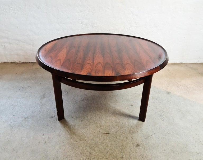 Norwegian Midcentury Coffee Table Rosewood