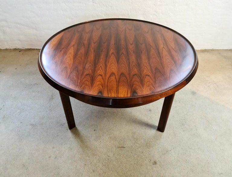 Midcentury Coffee Table Rosewood