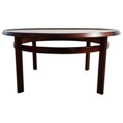 """Midcentury Coffee Table Rosewood """"Bellis"""" Torbjörn Afdal Norway"""