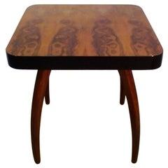Midcentury Coffee Table, Spider, Design by Jindrich Halabala, 1930