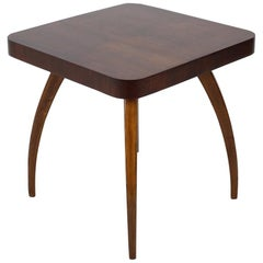 """Midcentury Coffee Table """"Spider"""" Designed by Jindřich Halabala, 1950s"""