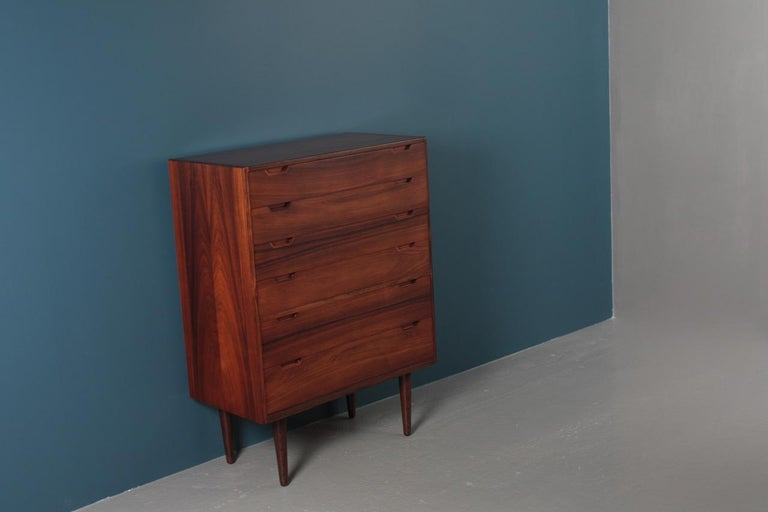 Midcentury Commode in Rosewood by Svend Langkilde, 1960s Danish Design For Sale 6