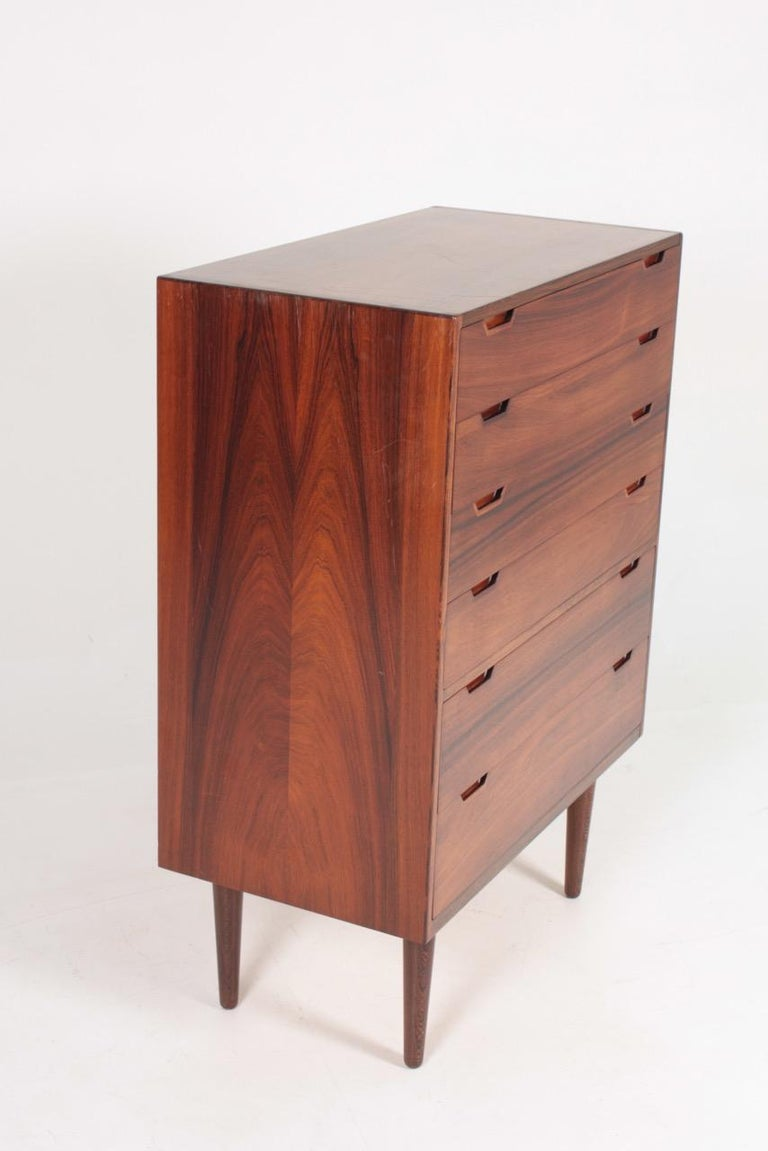 Midcentury Commode in Rosewood by Svend Langkilde, 1960s Danish Design For Sale 2