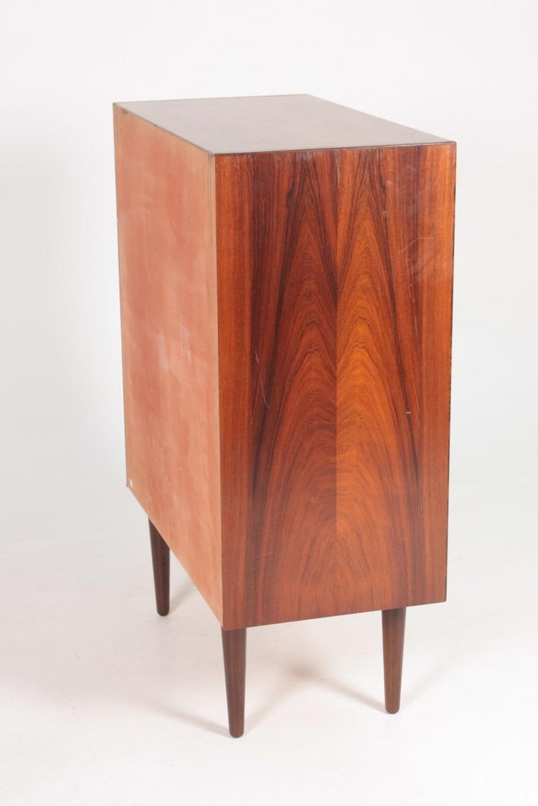 Midcentury Commode in Rosewood by Svend Langkilde, 1960s Danish Design For Sale 4