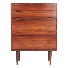 Midcentury Commode in Rosewood by Svend Langkilde, 1960s Danish Design