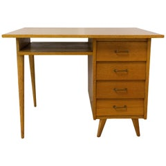 Midcentury Compas Desk Writing Table, 1950, France