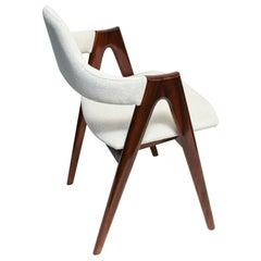 Midcentury Compass SVA Møbler Dinning Chair, 1960s