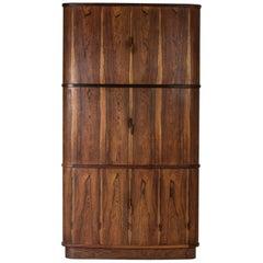 Midcentury Corner Cabinet by Niels O. Møller
