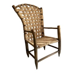 Midcentury Country Chair from Mexico