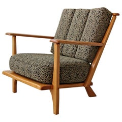 Midcentury Craftsman Style Lounge Chair by Cushman