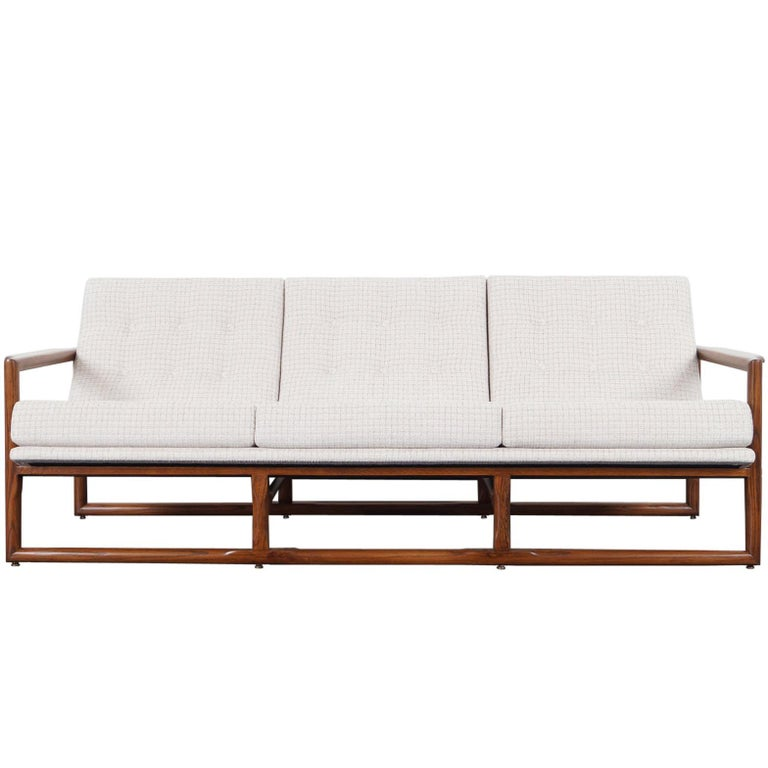 """Midcentury """"Cube"""" Sofa by Milo Baughman For Sale"""