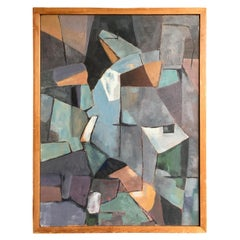 Midcentury Cubist Abstraction