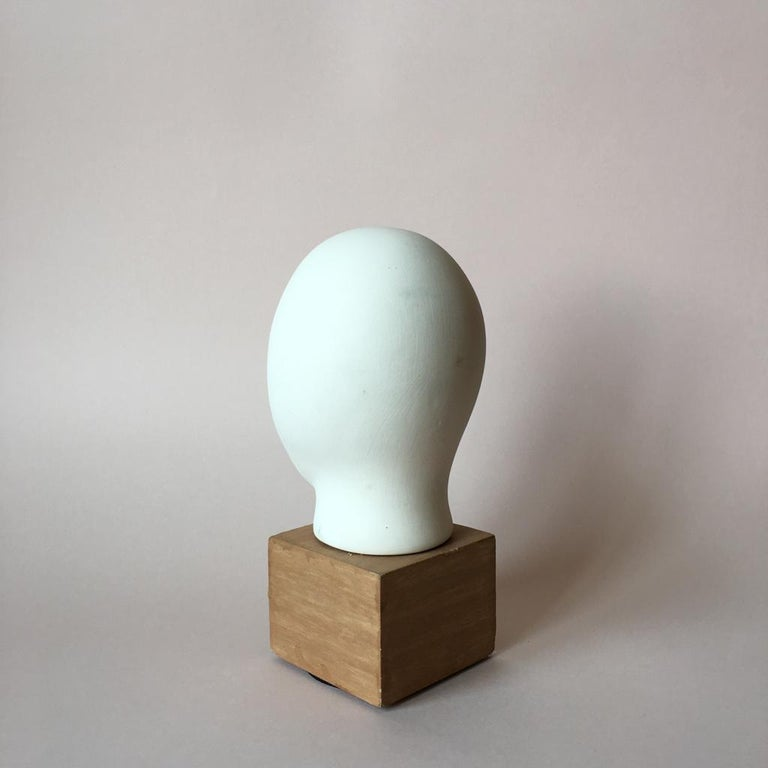 Midcentury Cycladic Head Sculpture In Good Condition For Sale In Riga, Latvia