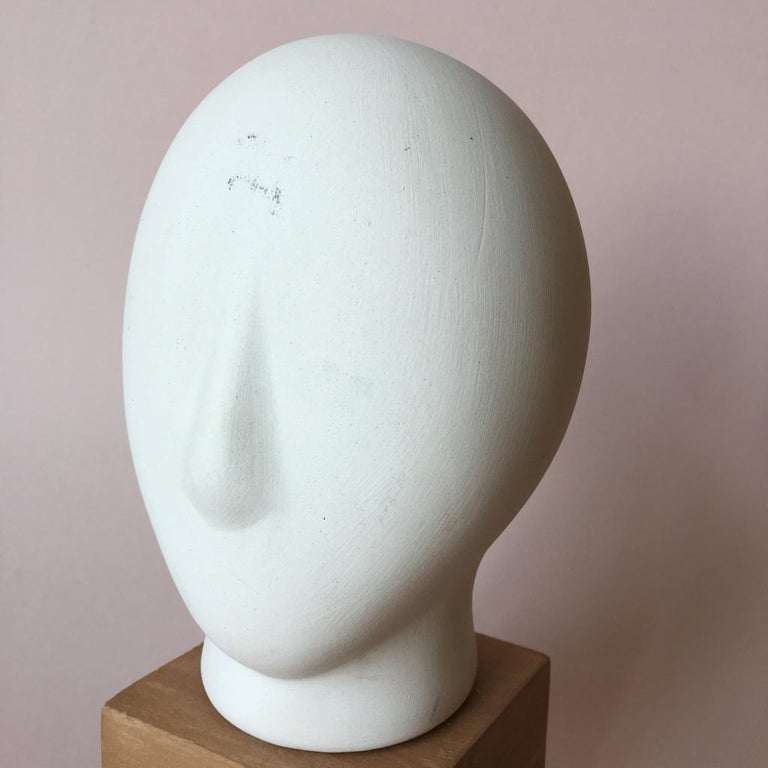 Midcentury Cycladic Head Sculpture For Sale 1