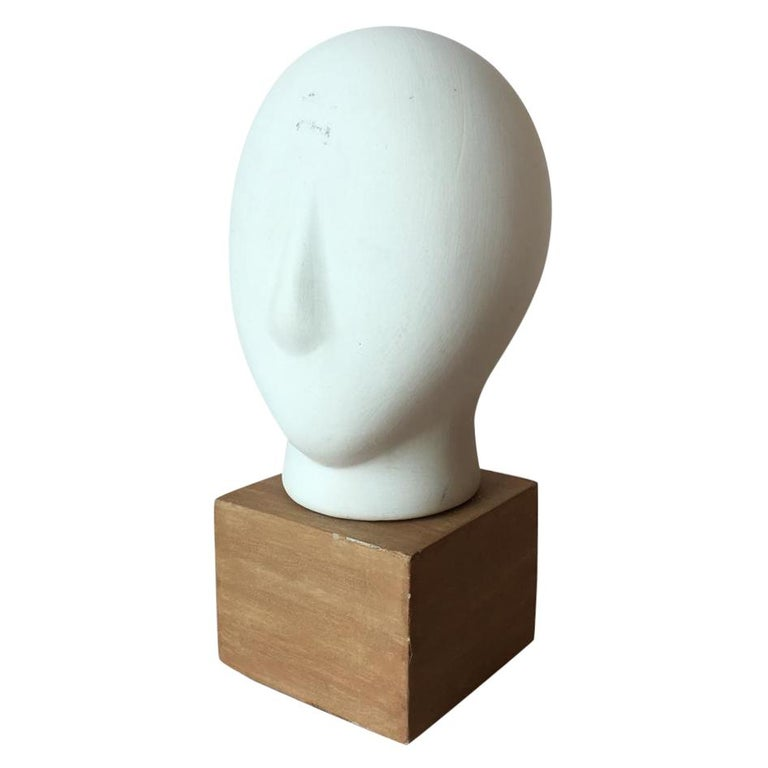 Midcentury Cycladic Head Sculpture For Sale