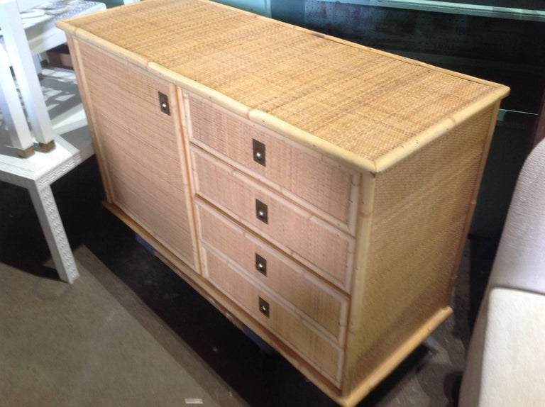 Superb Italian midcentury design. This is an elegantly designed sleek side cabinet  perfect for use in any room.