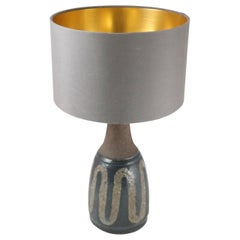 Midcentury Danish Ceramic Table Lamp, 1970s