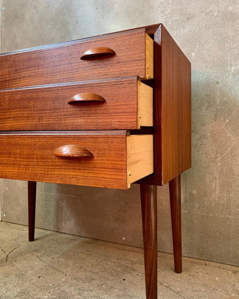 Midcentury Danish Chest of Drawers, 1960s by Johannes Sorth 1