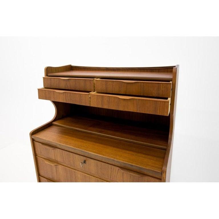 Midcentury Danish Design Secretary / Vanity in Teak, 1960s For Sale 3