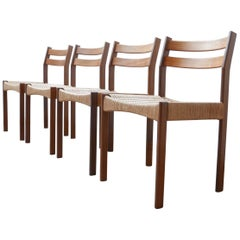 Midcentury Danish Dining Chairs Attributed to Mogens Kold '4'
