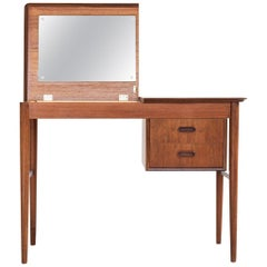 Midcentury Danish Dressing Table in Teak, 1960s