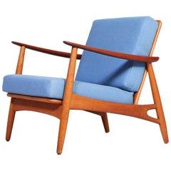 Midcentury Danish Easy Chair by Johannes Andersen, 1950s