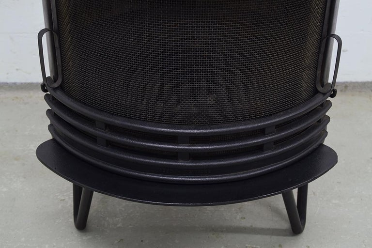 Midcentury Danish Fireplace by Hoff & Windinge for Tasso, 1942 For Sale 2