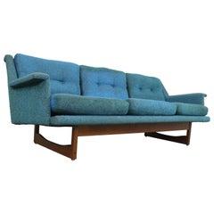 Midcentury Danish Modern Adrian Pearsall Style 3 Cushion Sofa