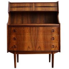 Midcentury Danish Modern Arne Vodder Secretary Desk