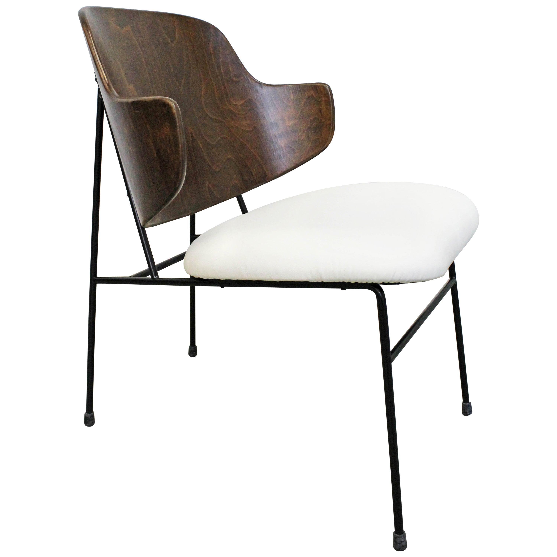Mid Century Danish Modern IB Kofod Larsen Selig Penguin Chair