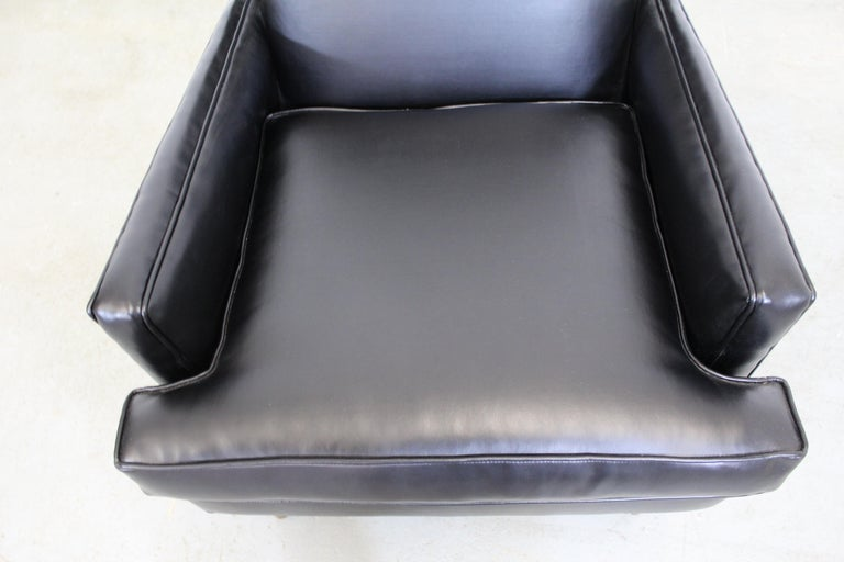 Midcentury Danish Modern Leather Selig Lounge Chair For Sale 1