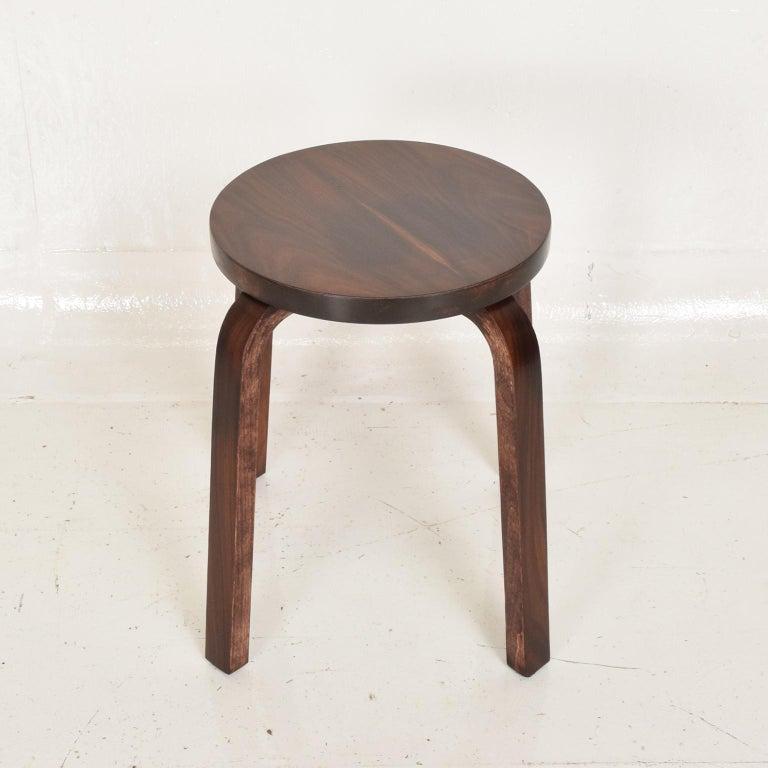 Mid-Century Modern Midcentury Danish Modern, Rare Rosewood Stool by Alvar Aalto for Artek For Sale