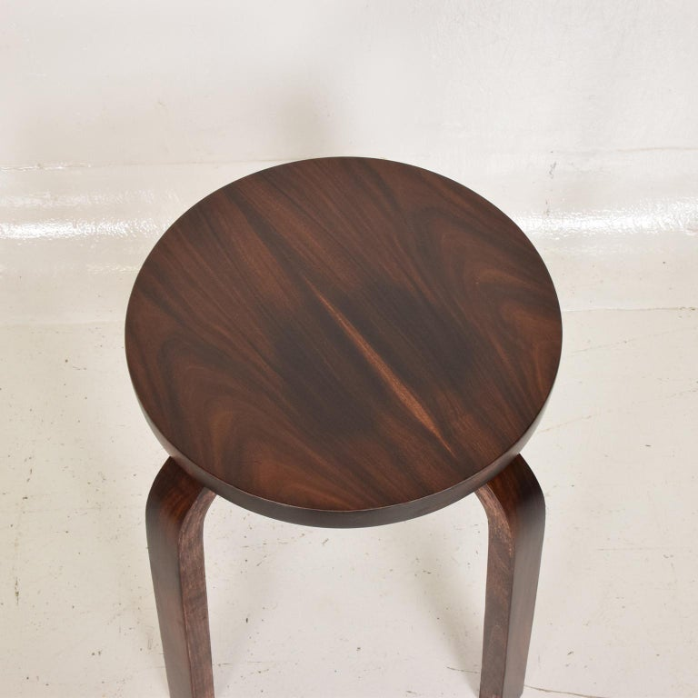 Midcentury Danish Modern, Rare Rosewood Stool by Alvar Aalto for Artek In Good Condition For Sale In National City, CA
