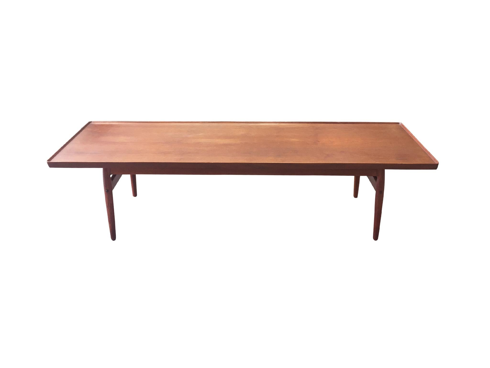 Midcentury Danish Modern Teak Coffee Table At 1stdibs