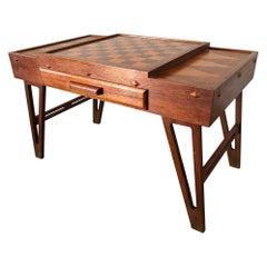 Midcentury Danish Modern Teak Game Table