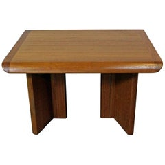 Midcentury Danish Modern Teak Side or End Table