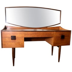 Midcentury Danish Modern Teak Vanity by Kofod-Larsen for G Plan