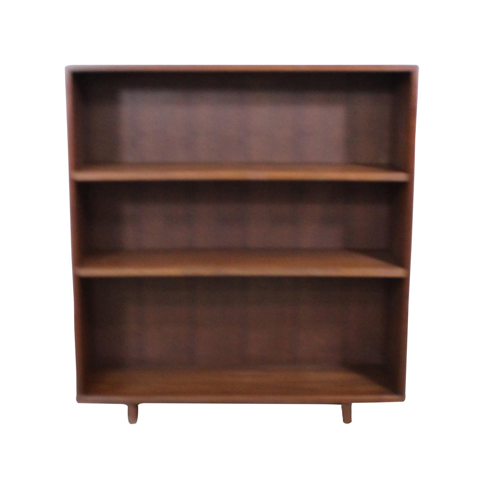 Midcentury Danish Modern Walnut Bookcase