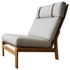 Midcentury Danish Oak Lounge Chair by Komfort Design