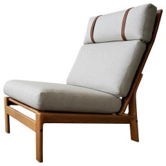 Tremendous Mid Century Danish Modern Komfort Teak Lounge Chair And Pabps2019 Chair Design Images Pabps2019Com