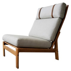 Midcentury Danish Oak Lounge Chair