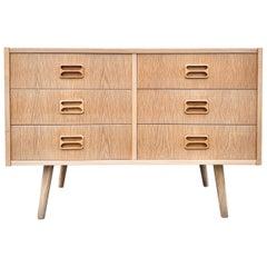 Midcentury Danish Oak Sideboard, 1960s