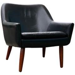 Midcentury Danish Pot Lounge Chair