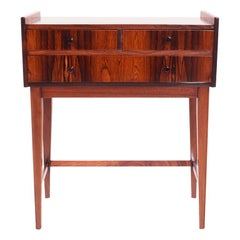 Midcentury Danish Rosewood Bedside Table