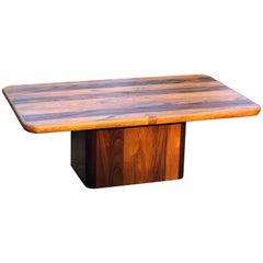 Midcentury Danish Rosewood Coffee Table by Jensen Frokjaer