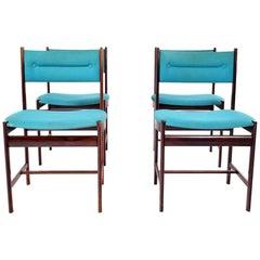 Midcentury Danish Rosewood Dinning Chairs