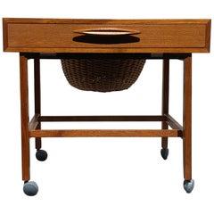 Midcentury Danish Sewing Cabinet, 1960s