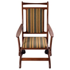 Midcentury Danish Spring Rocking Chair in Teak, 1960