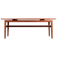 Midcentury Danish Teak Coffee Table by Peter Hvidt & Orla Mølgaard Nielsen