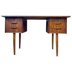 Midcentury Danish Teak Desk, 1960s